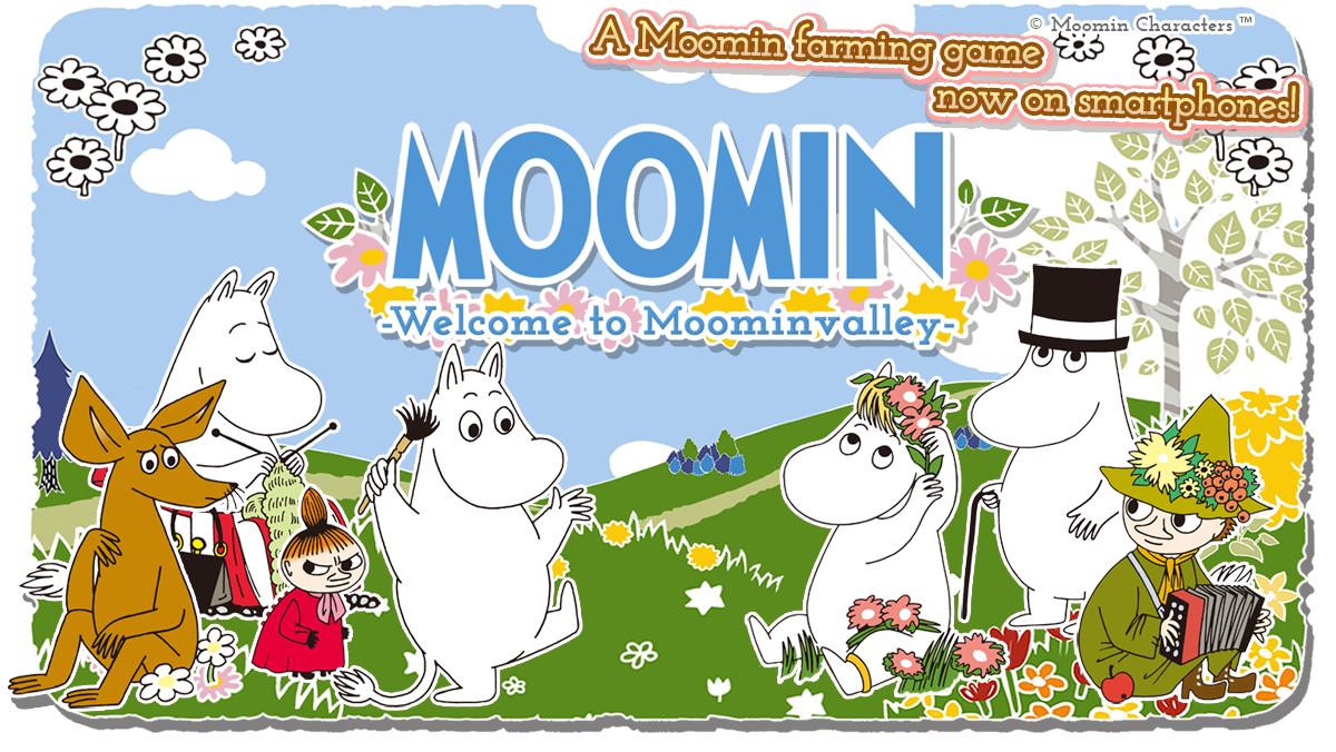 Moomin Welcome To Moominvalley Iphone Android Smartphone